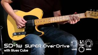 BOSS SD-1W Super OverDrive Sound Preview