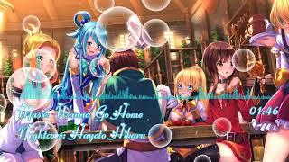 [ Nightcore ] Wanna Go Home ( Ouchi Ni Kaeritai ) - Sora Amamiya, Rie Takahashi, Ai Kayano