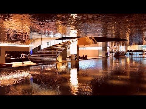 Empty Al Mourjan, Doha - Best Business Lounge in the World, Qatar Airways
