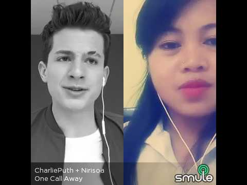One call away  Charlie Puth singing with Niry