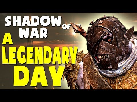 Middle Earth: Shadow of War Funny Moments - A LEGENDARY DAY (Gravewalker Difficulty)