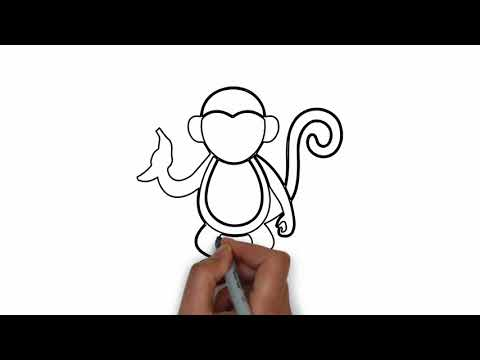 Drawing Monkey Picture | Life Hack