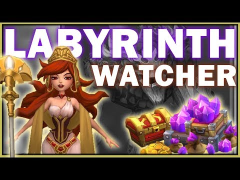 LORDS MOBILE - LABYRINTH WATCHER EVENT EXPLAINED