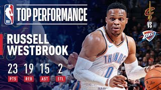 Russell Westbrook Ties Jason Kidd For The 3rd Most Triple-Doubles in NBA HIstory | November 28, 2018