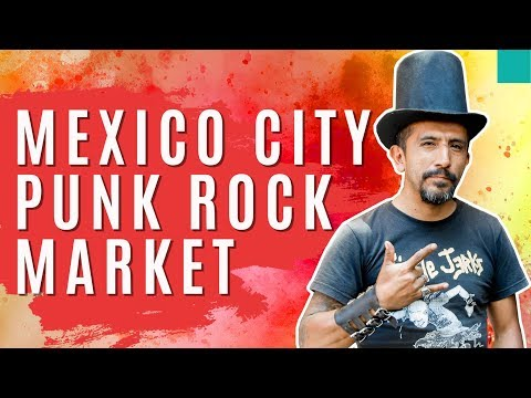 Punk's Not Dead at El Chopo Market: Mexico City Series Day One