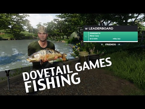 Full download how to catch carp the swish and flick in for Dovetail games fishing