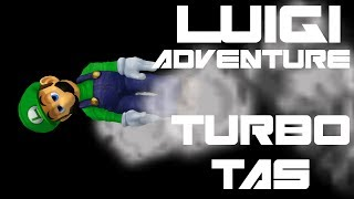 Luigi Adventure - Turbo TAS (Very Hard, No Damage) - SSBM