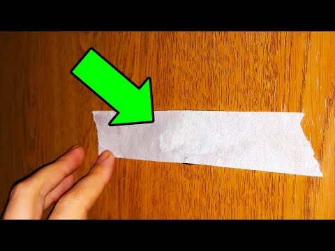 Put Tape Over the Peephole to Protect Your House