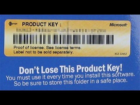 Как изменить ключ в Windows (How To Change Key In Windows)