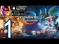 Might & Magic: Elemental Guardians Android iOS Walkthrough - Part 1 - Floating Islands