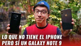 8 cosas que los usuarios de iPhone pueden envidiar del Galaxy Note 9
