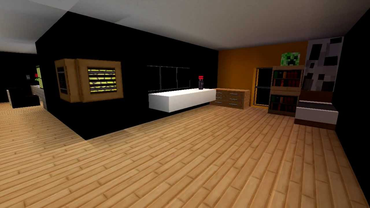 Minecraft design casa moderna 2 by sanjigames youtube for Piani casa moderna india