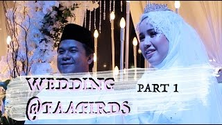 wedding @faafirds  PART 1
