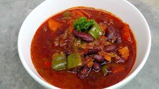 Goulash with Kidney Beans - Vegan Vegetarian Recipe