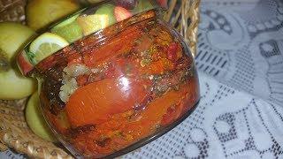 Вяленые помидоры! Очень вкусная заготовка на зиму.