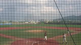 이평중학교vs인천상인중학교 이순신장군배 야구대회7회