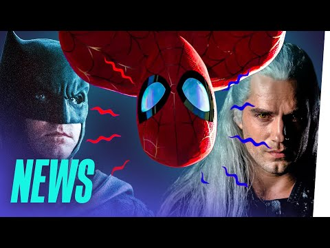 SPIDER-MAN räumt ab / THE BATMAN-Start bekannt / THE WITCHER wird brutal thumbnail