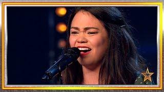 Sus padres murieron en VENEZUELA y ahora TRIUNFA cantando | Audiciones 6 | Got Talent España 2019
