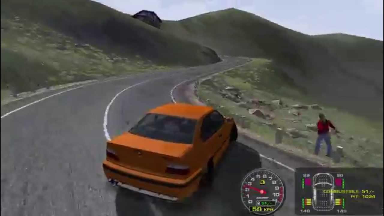 rFactor Project D 2 3 Drift   BMW M3 E36 (noob practice)