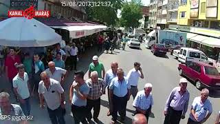 Kahramanmaraş'ta otobüs kazası anı kameralarda