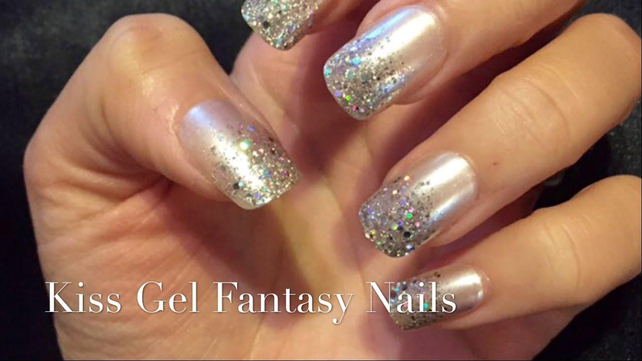 Kiss Gel Fantasy Nails - YouTube