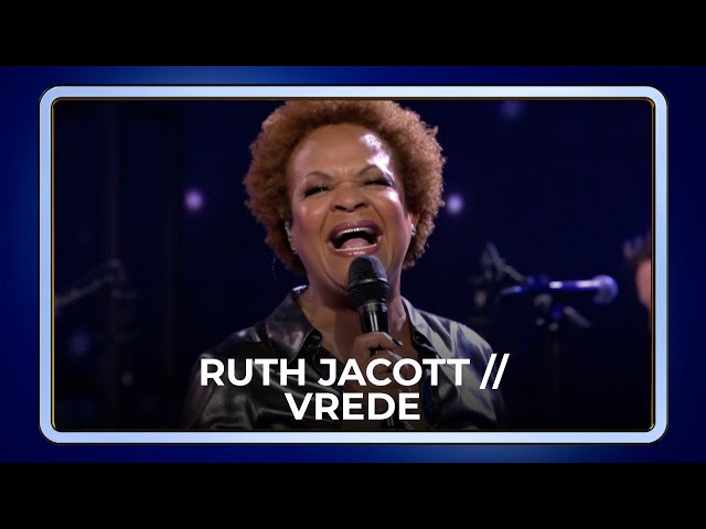 Ruth Jacott // Vrede | De Beste Liedjes van het Songfestival