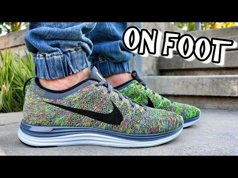 Nike Flyknit Lunar 1 Multicolor - Review + On Foot