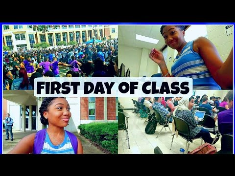 COLLEGE VLOG: FIRST DAY of Class | University of Memphis