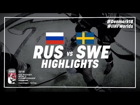 Game Highlights: Russia vs Sweden May 15 2018 | #IIHFWorlds 2018