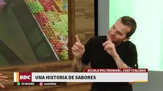 Nicola Poltromieri, una historia de sabores