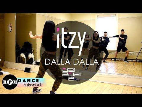 """ITZY """"DALLA DALLA"""" Dance Tutorial (Chorus, Breakdown)"""
