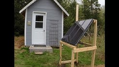Solar Power Installed at the Cabin