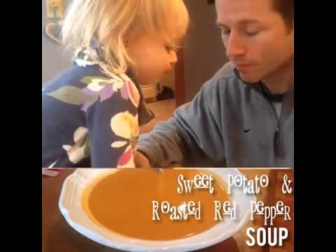Sweet Potato & Roasted Red Pepper Bisque