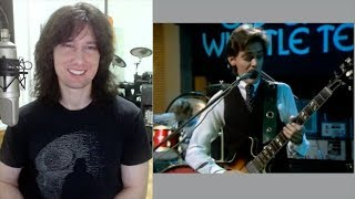 British guitarist analyses Be-Bop Deluxe live in 1976!