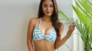 美女の水着姿に釘付けになるだけの動画