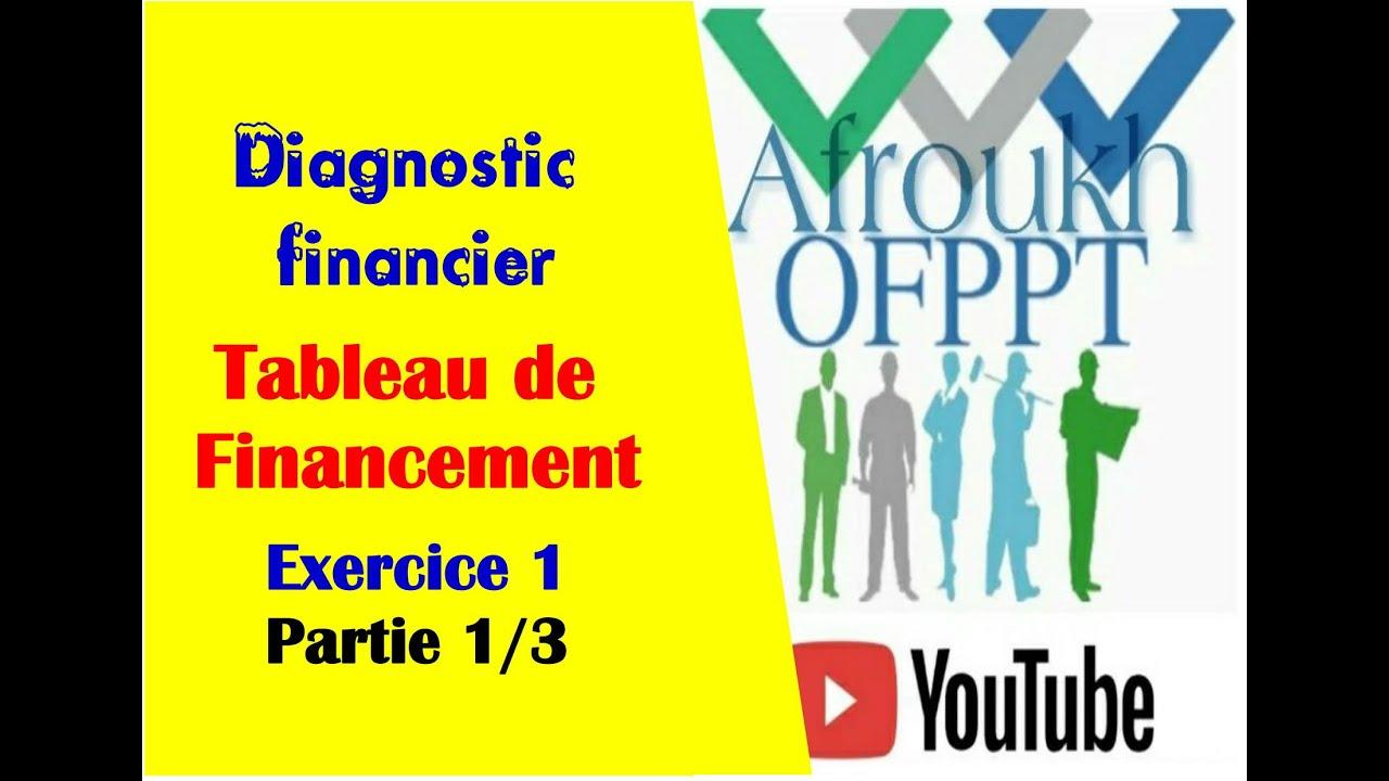 Tableau De Financement Exercice 1 Partie 2 3 Youtube