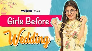 Types Of Girls Before Wedding | SAMREEN ALI