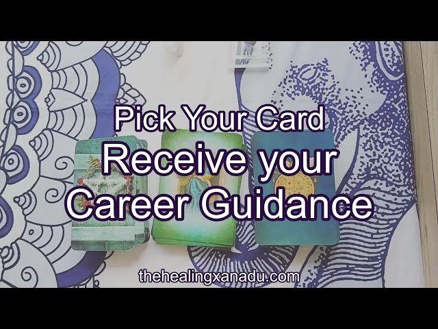 Pick a card: Your career guidance
