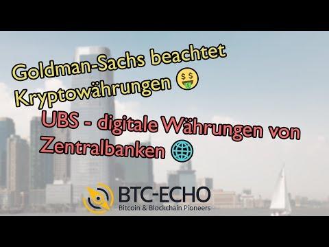 Goldman-Sachs sticht J.P. Morgan aus | UBS - digitale Währungen von Zentralbanken | KW 40