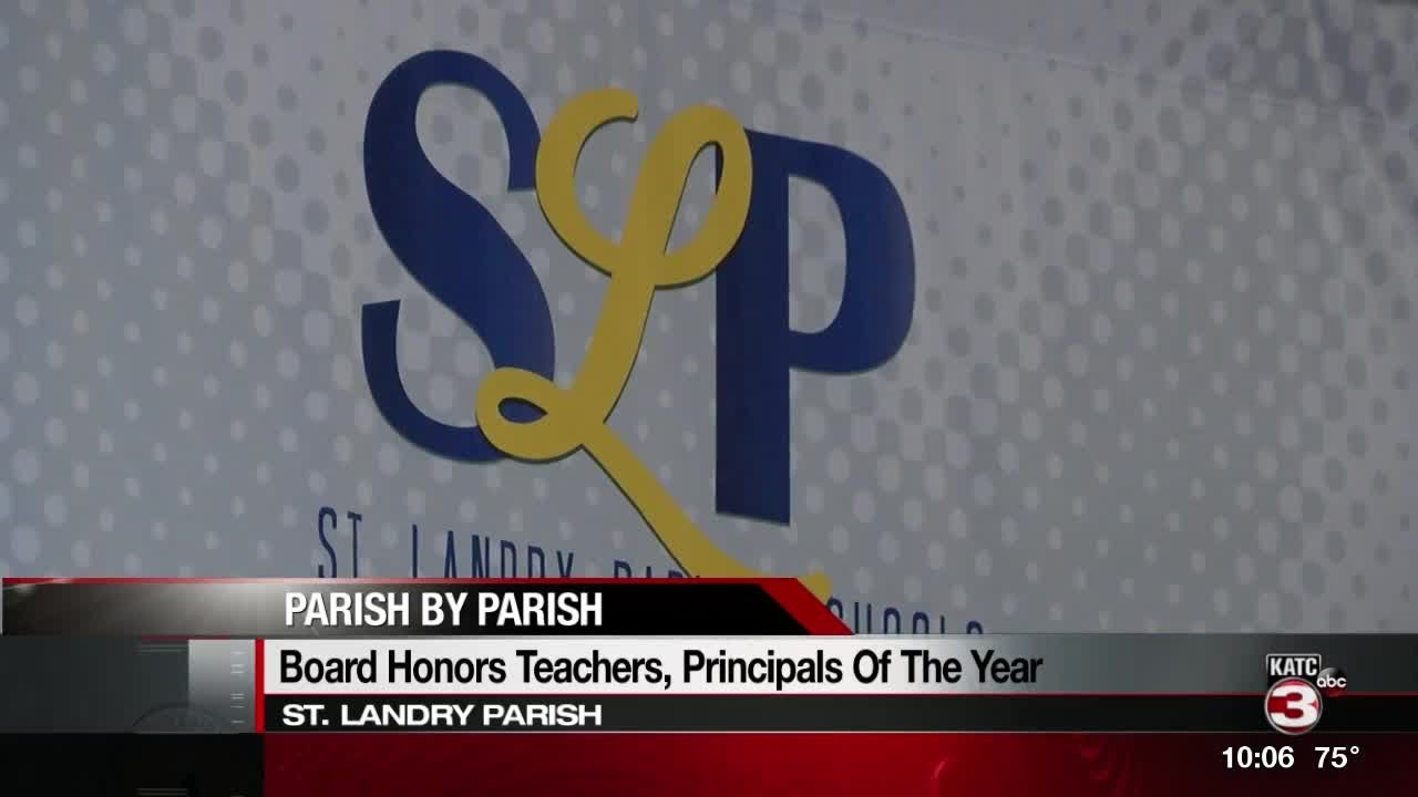 Teachers And Principals Honored At St Landry Parish Banquet Youtube