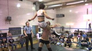 Reed Bentley hits the Reed Awakening on Heidi Lovelace [Beyond Wrestling]