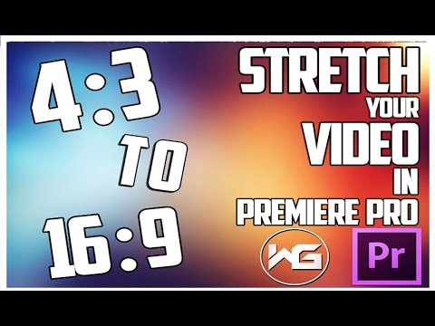 How to Stretch your Videos freely | PremierePro CS6