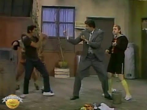 Don Ramón vs el Profesor Jirafales