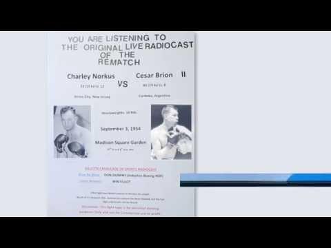 Charley Norkus vs Cesar Brion ll (Rematch)