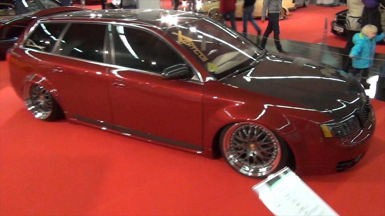 Audi A4 Avant Station Wagon Tuning Porsche Rims