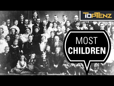 10 Enormous Families And Incredibly Widespread Bloodlines