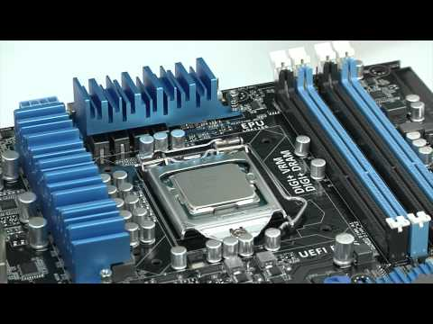 ASUS How-To - Install CPU, CPU Fan, & Memory
