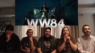 Wonder Woman 1984 - Official Trailer Reaction / Review