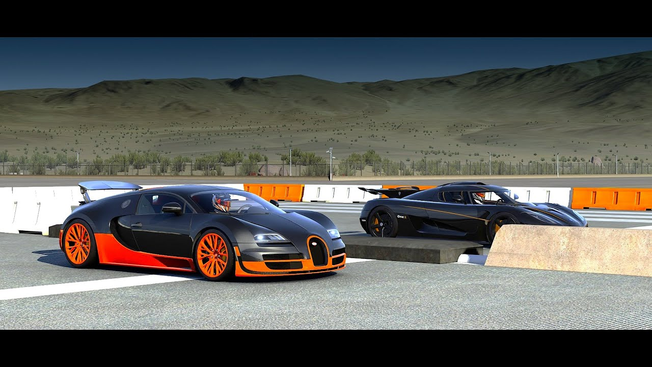 forza 6 koenigsegg one 1 vs bugatti veyron super sport. Black Bedroom Furniture Sets. Home Design Ideas