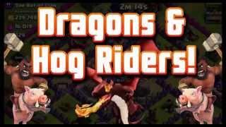 HOG DRAGON VS BARBARIAN KING (COC) LTG